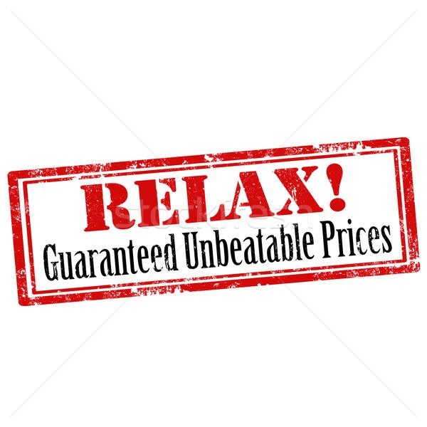 Grunge pecsét szöveg felirat pihen vásár Stock fotó © carmen2011