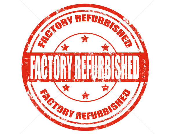 Factory refurbished-stamp Stock photo © carmen2011
