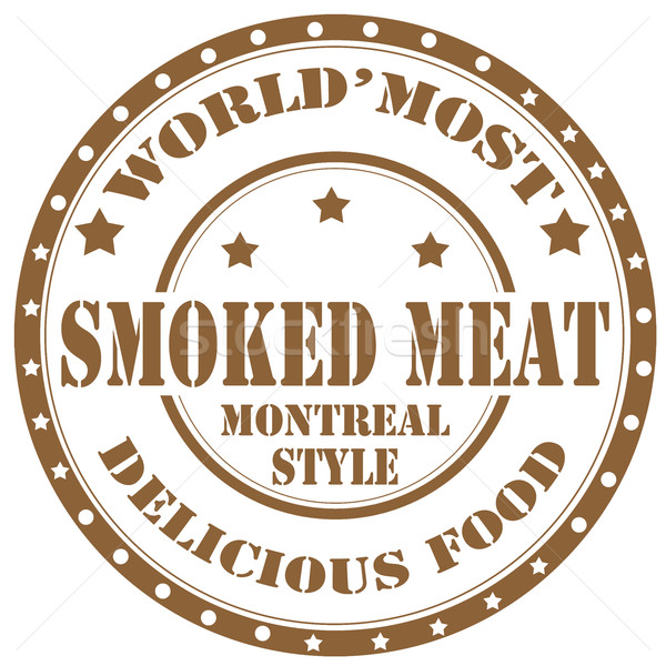 Gerookt tekst biefstuk stijl rubber Stockfoto © carmen2011