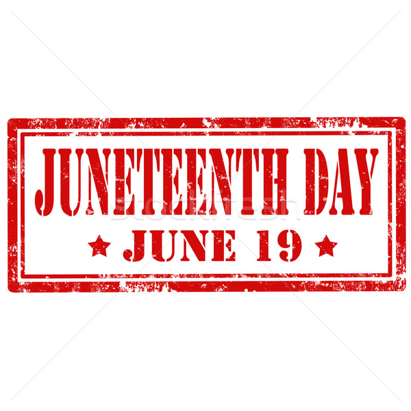 Juneteenth Day-stamp Stock photo © carmen2011