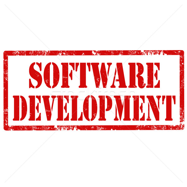 Software grunge testo ufficio concetto Foto d'archivio © carmen2011