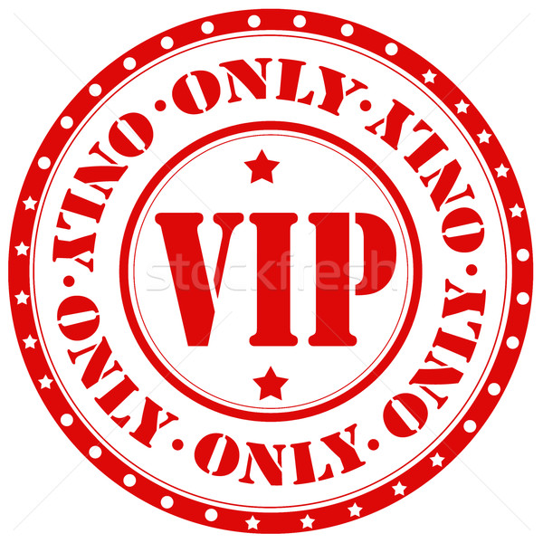 VIP Only-stamp Stock photo © carmen2011