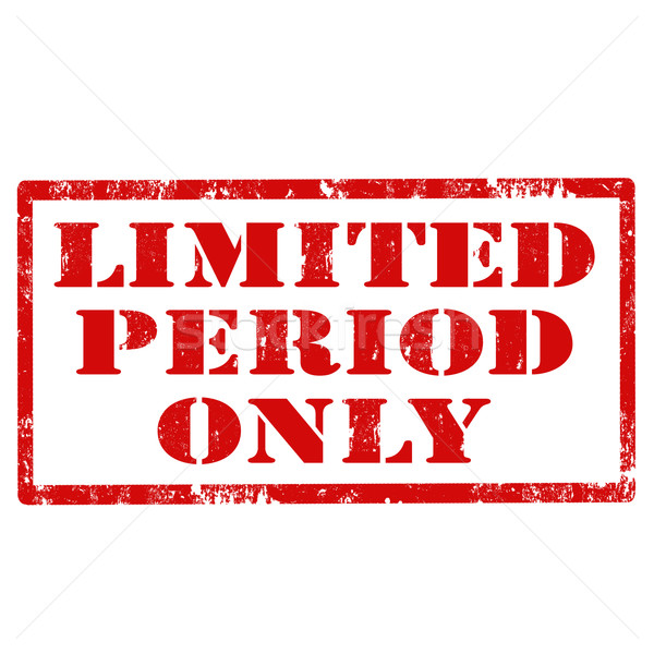 Stock photo: Limited Period Only