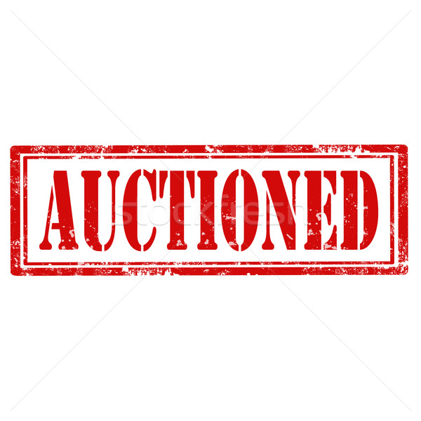Auctioned-stamp Stock photo © carmen2011