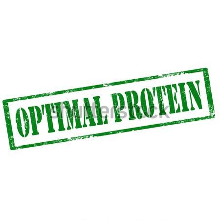 Optimal Protein-stamp Stock photo © carmen2011