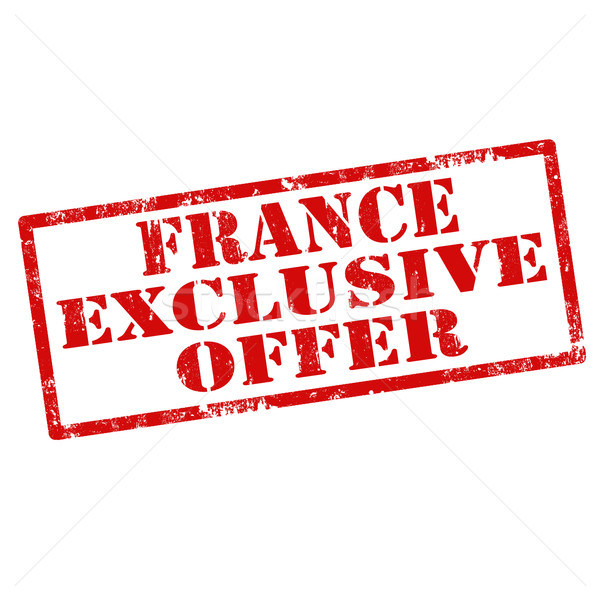 France Exclusive Offer Stock photo © carmen2011