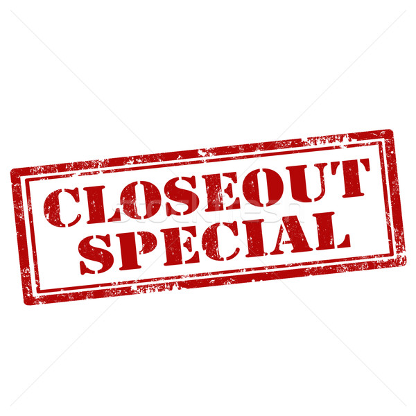 Closeout Special-stamp Stock photo © carmen2011