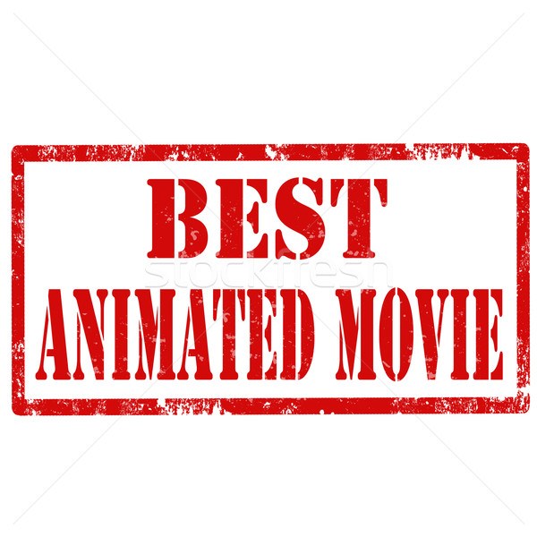 Best Animated Movie-stamp Stock photo © carmen2011
