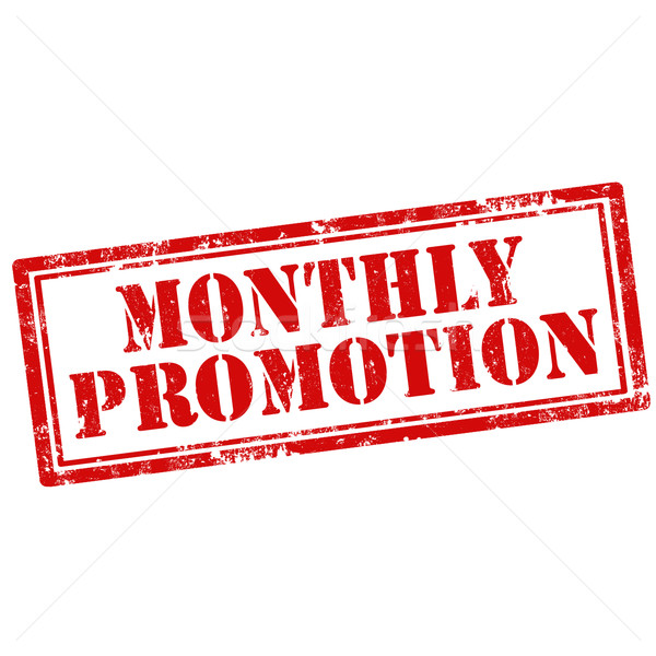 Monthly Promotion-stamp Stock photo © carmen2011