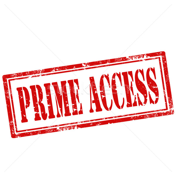 Prime Access-stamp Stock photo © carmen2011
