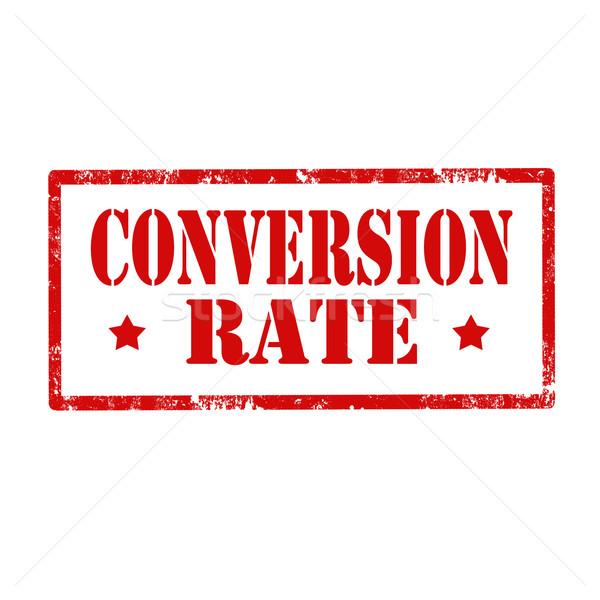 Conversion Rate Stock photo © carmen2011