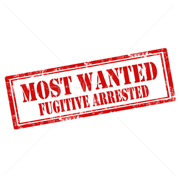Stock photo: Most Wanted Fugitive Arrested