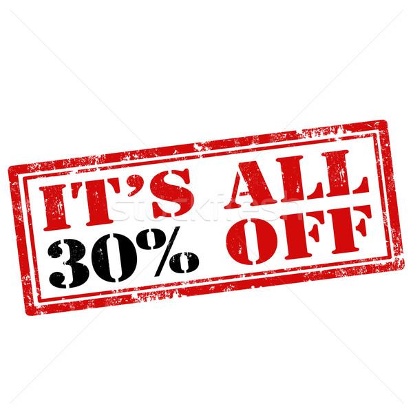 It's All 30% Off Stock photo © carmen2011