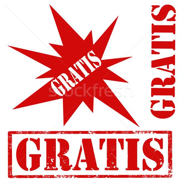 Gratis-stamps Stock photo © carmen2011
