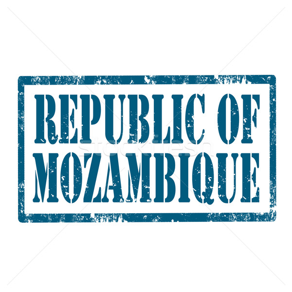 Republic Of Mozambique-stamp Stock photo © carmen2011