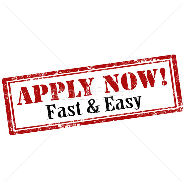 Apply Now-stamp Stock photo © carmen2011