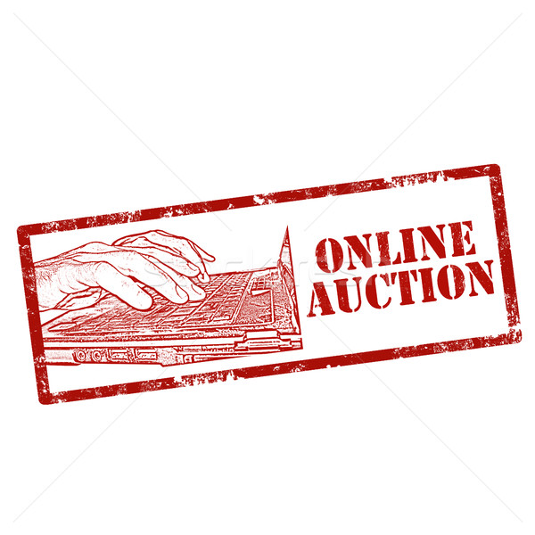 Online Auction-stamp Stock photo © carmen2011