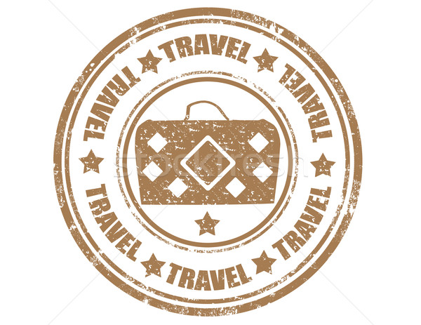 Travel- stamp Stock photo © carmen2011