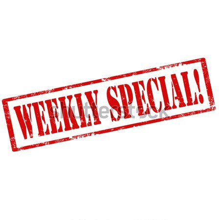 Weekly Special-stamp Stock photo © carmen2011