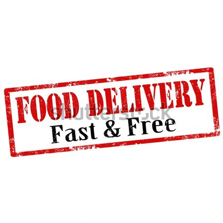 Food Delivery Stock photo © carmen2011