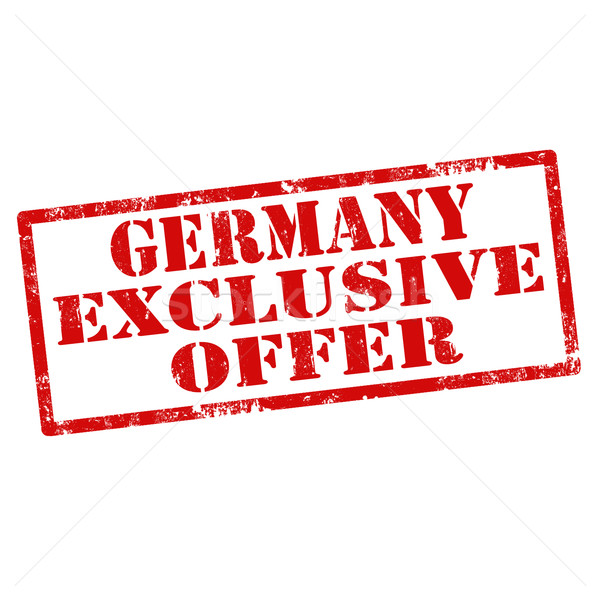 Germany Exclusive Offer Stock photo © carmen2011