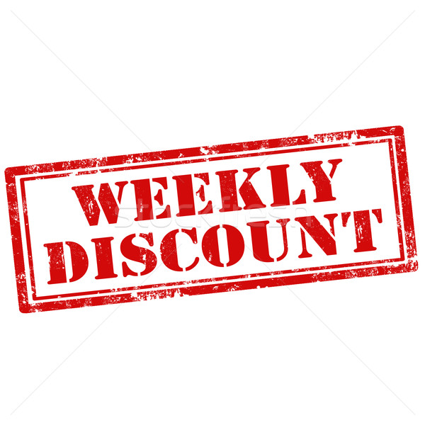Weekly Discount Stock photo © carmen2011