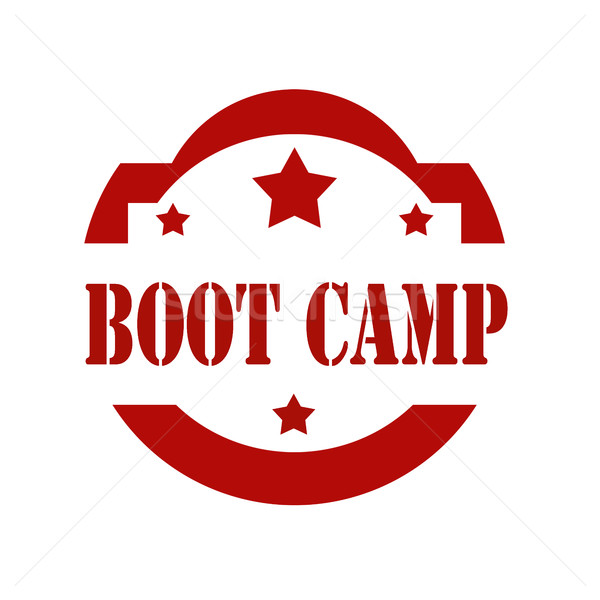 Boot Camp-stamp Stock photo © carmen2011
