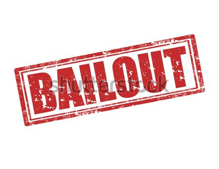 Bailout-stamp Stock photo © carmen2011