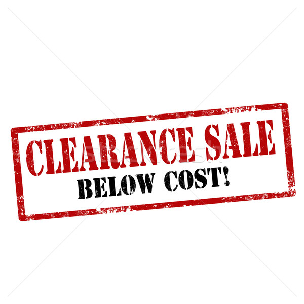 Clearance Sale-stamp Stock photo © carmen2011