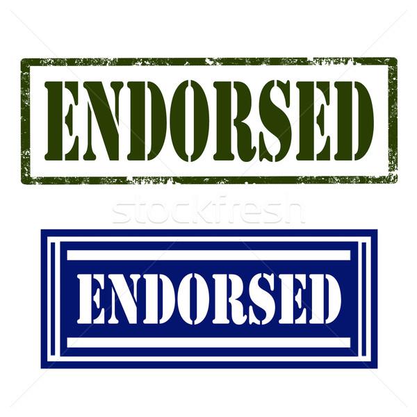 Endorsed -Stamps Stock photo © carmen2011