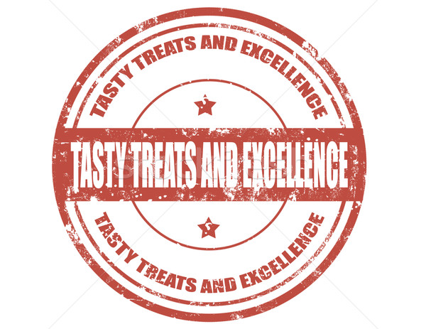 Tasty treats and excellence-stamp Stock photo © carmen2011
