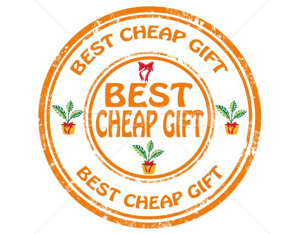 Migliore a buon mercato grunge testo regalo Foto d'archivio © carmen2011