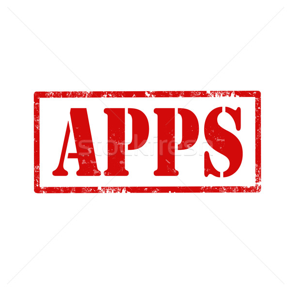 APPS-stamp Stock photo © carmen2011