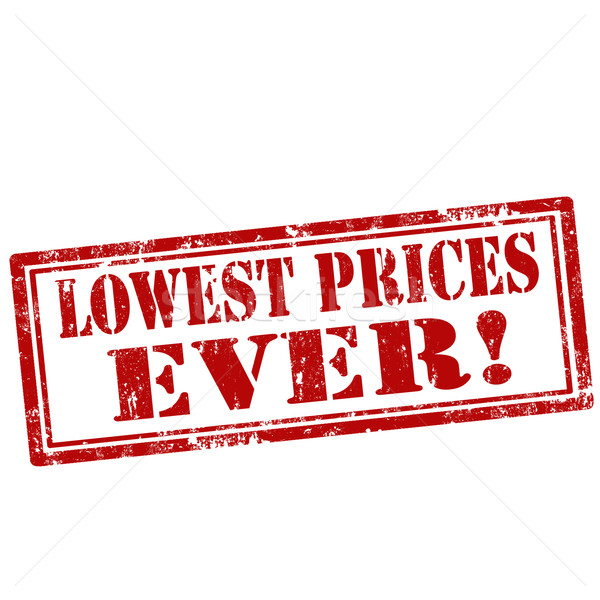 Lowest Prices Ever!-stamp Stock photo © carmen2011