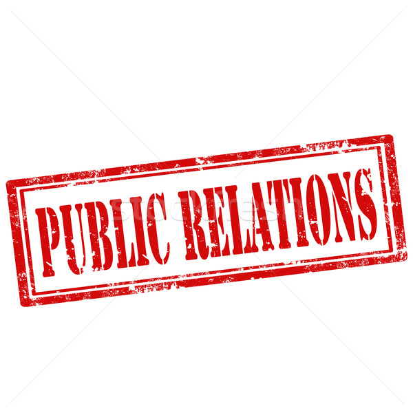 Public Relations-stamp Stock photo © carmen2011