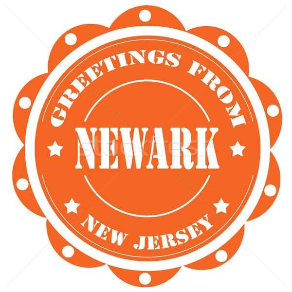 Newark-label Stock photo © carmen2011