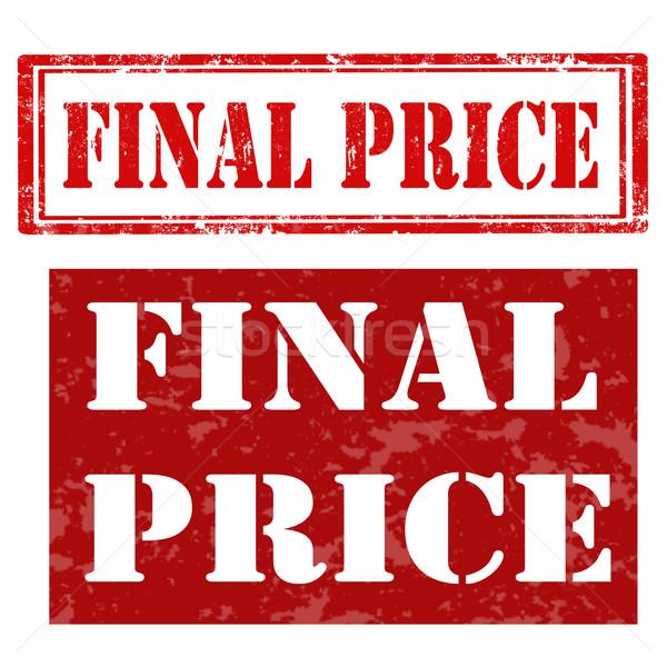 Végső szett grunge gumi bélyegek szöveg Stock fotó © carmen2011