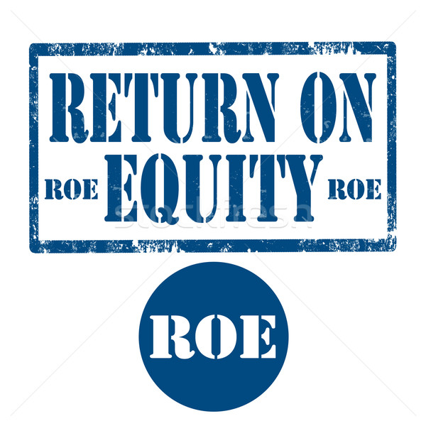 Return On Equity-stamp Stock photo © carmen2011