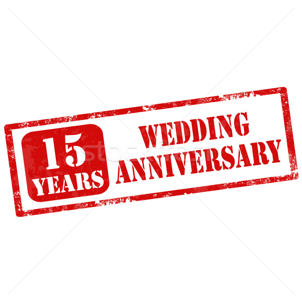 Wedding Anniversary Stock photo © carmen2011