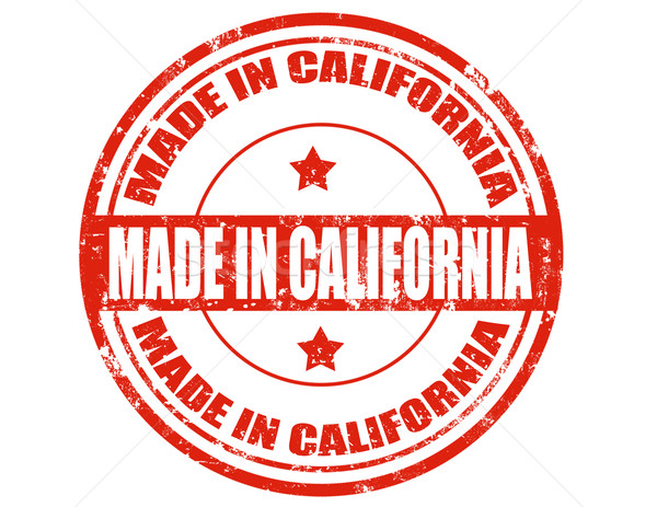 Made in California Stock photo © carmen2011