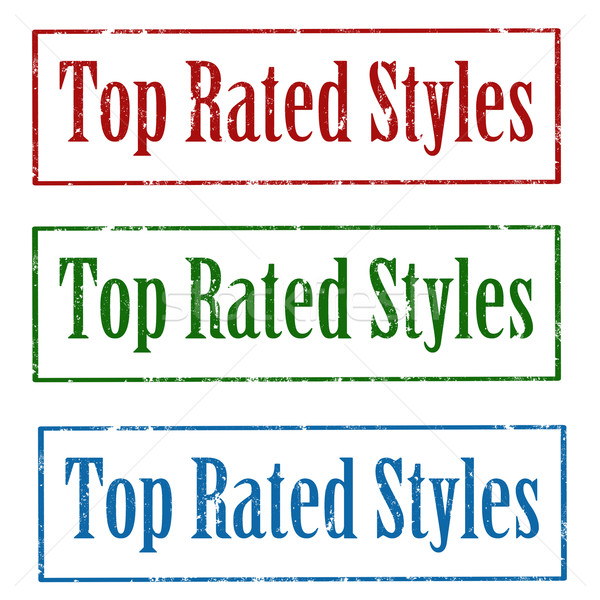Top Rated Styles-stamps Stock photo © carmen2011