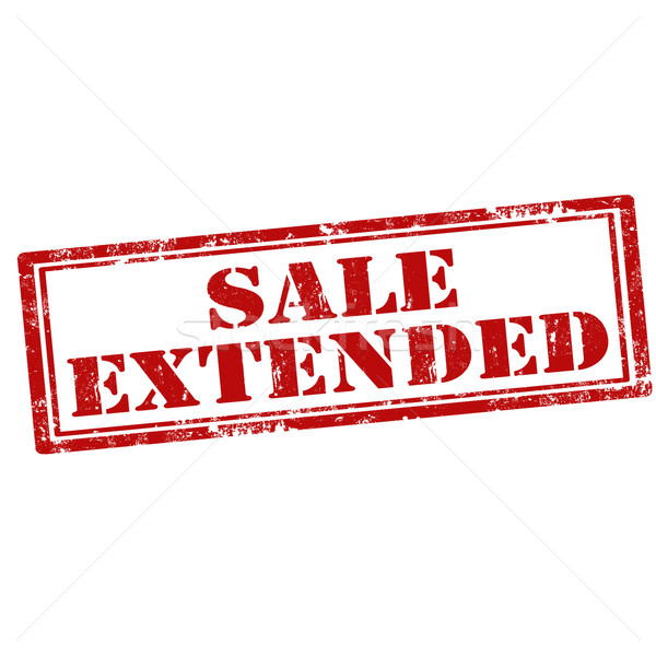 Stock photo: Sale Extended