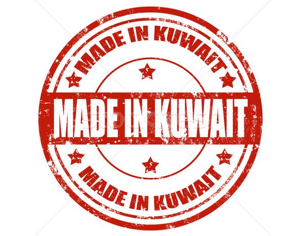 Кувейт Гранж текста бизнеса фон Сток-фото © carmen2011