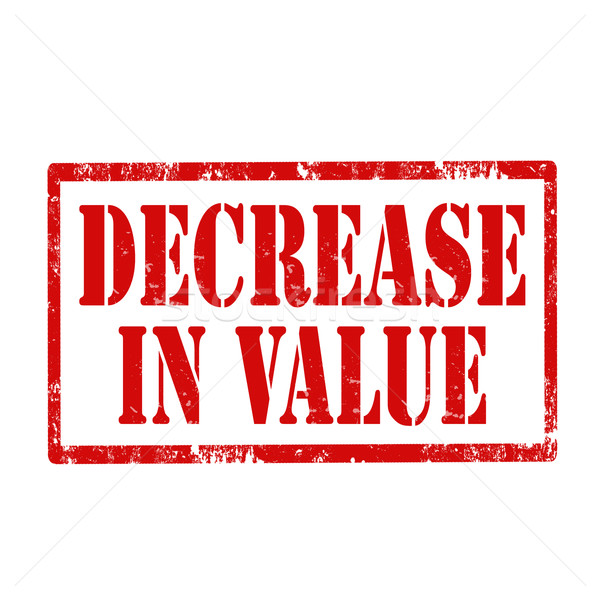 Decrease In Value-stamp Stock photo © carmen2011