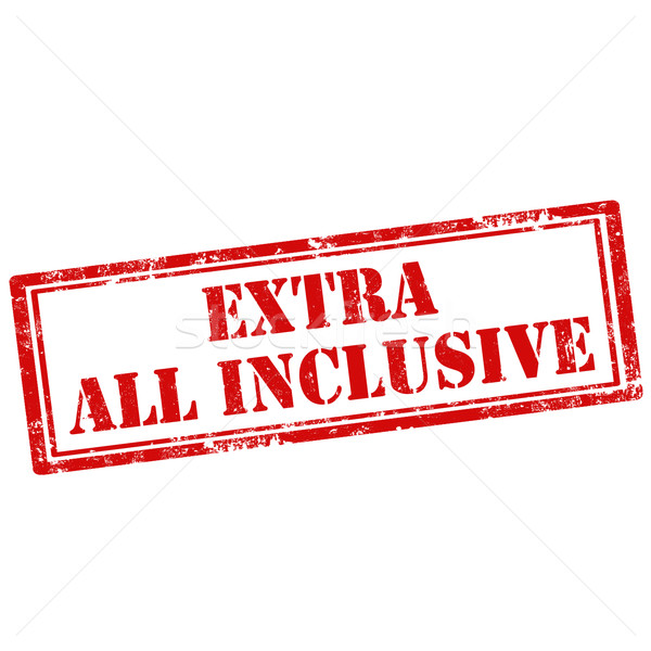Extra All Inclusive Stock photo © carmen2011