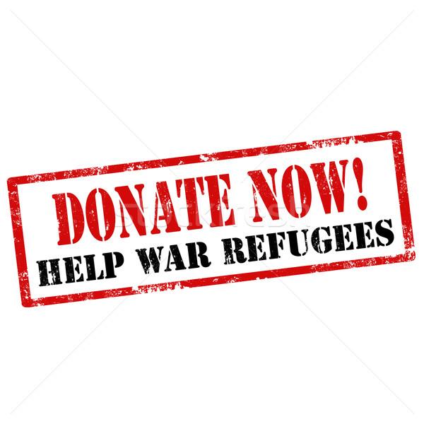 Donate Now! Stock photo © carmen2011