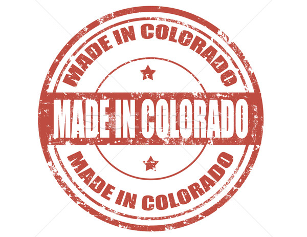 Stock photo: Made in Colorado