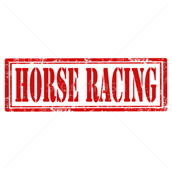 Ló grunge pecsét szöveg iroda versenyzés Stock fotó © carmen2011