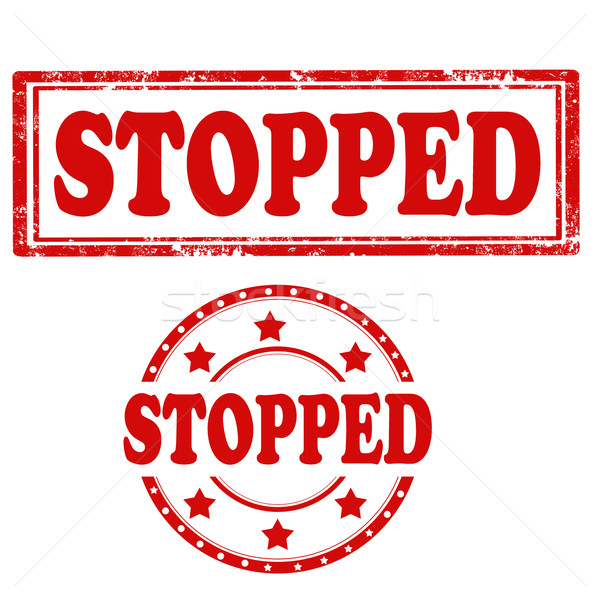 Stopped-stamps Stock photo © carmen2011