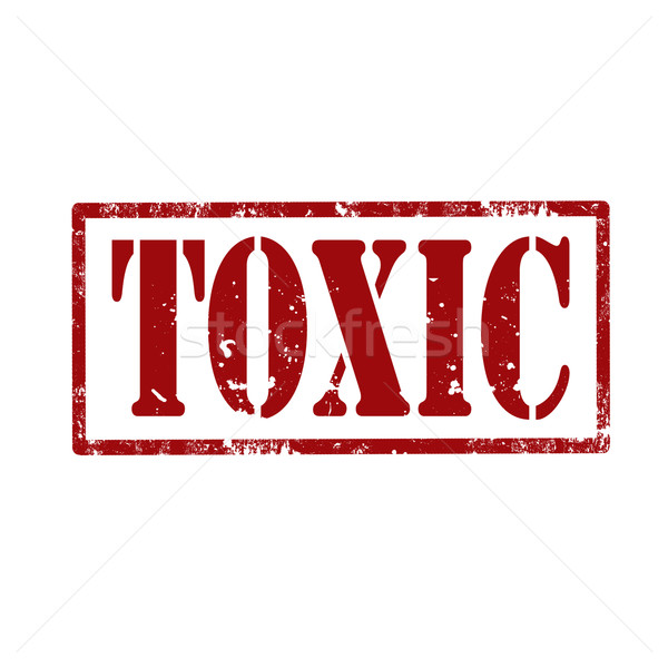 Toxic-stamp Stock photo © carmen2011